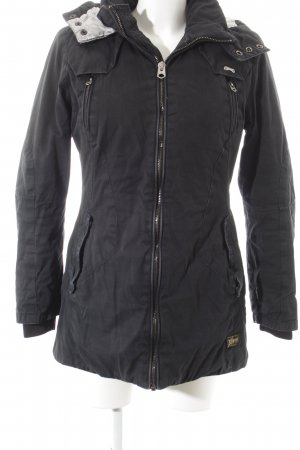 G-Star Raw Wintermantel schwarz Urban-Look