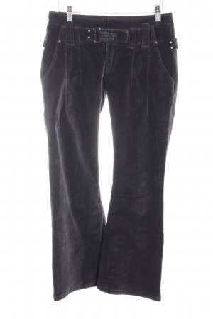 G-Star Raw Woolen Trousers black-grey simple style