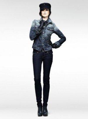 G-Star Raw Women's Midge Carter Denim Jacket, Light Aged, Small