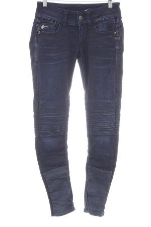 G-Star Röhrenjeans dunkelblau-schwarz Casual-Look