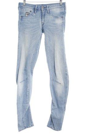 G-Star Röhrenjeans himmelblau Jeans-Optik
