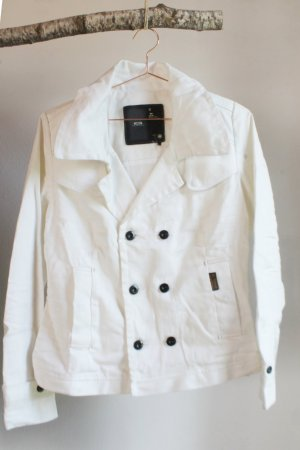 G-STAR Saban Jacke Blouson Jeans weiß white