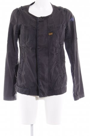 G-Star Safarijacke anthrazit Casual-Look