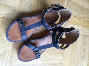 #G Star #Sandalette #Keilabsatz #Plateau