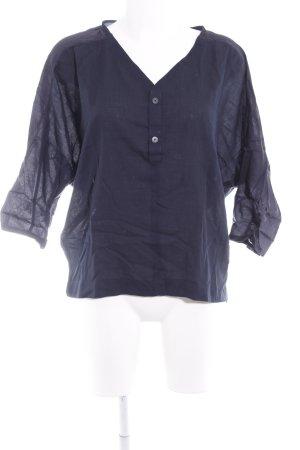 G-Star Slip-over blouse donkerblauw casual uitstraling