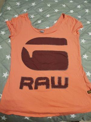 G-Star Shirt abrikoos