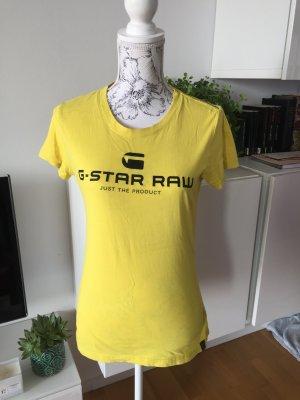 G-Star Shirt T-Shirt gelb Gr M/L wie neu
