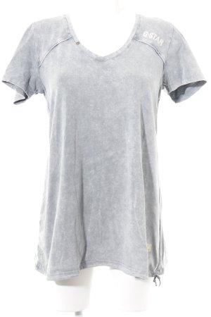 G-Star Shirtkleid hellgrau Casual-Look