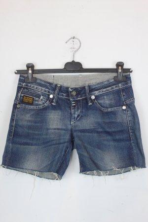 G-Star Shorts Jeansshorts Gr. 28 blau (18/6/221)