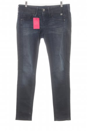 G-Star Skinny jeans neon blauw Jeans-look