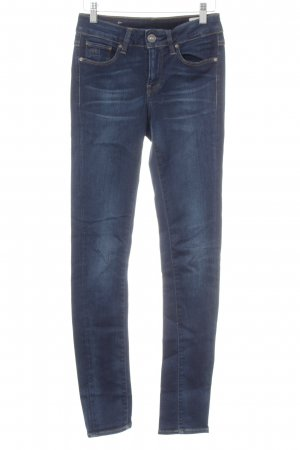 G-Star Skinny jeans donkerblauw casual uitstraling