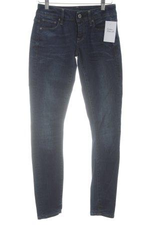 G-Star Skinny Jeans dunkelblau Casual-Look