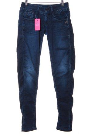 G-Star Skinny Jeans dunkelblau schlichter Stil