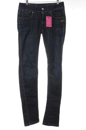 G-Star Skinny Jeans dunkelblau-schwarz Casual-Look