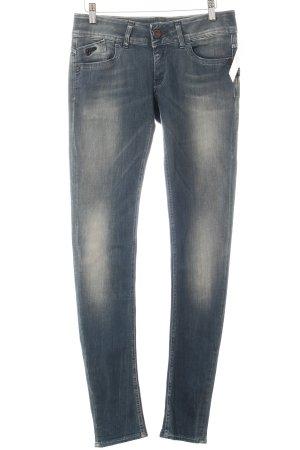 G-Star Skinny Jeans graublau Street-Fashion-Look