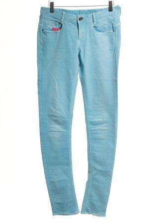 G-Star Vaquero skinny azul claro look casual