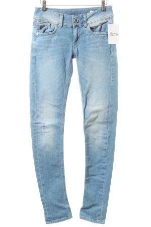G-Star Skinny Jeans hellblau Casual-Look