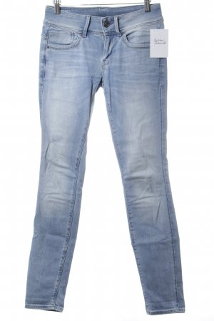 G-Star Skinny Jeans hellblau Street-Fashion-Look