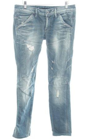 G-Star Skinny Jeans stahlblau Casual-Look