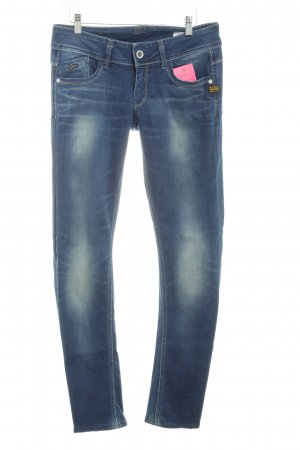 G-Star Slim Jeans blau meliert Casual-Look