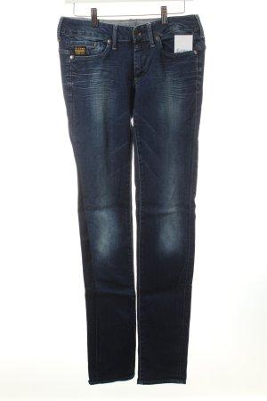 G-Star Slim Jeans dunkelblau-blassblau Casual-Look