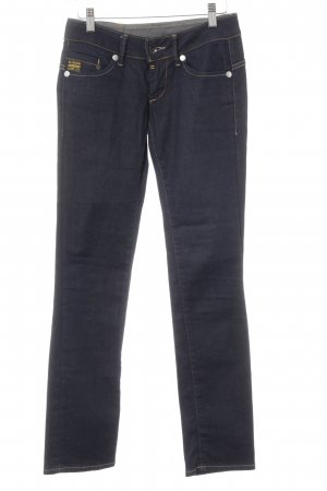 G-Star Slim jeans donkerblauw casual uitstraling