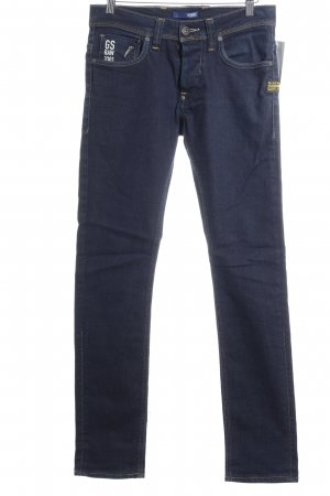 G-Star Slim Jeans dunkelblau Jeans-Optik