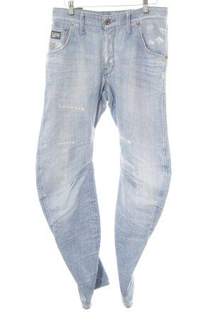 G-Star Slim jeans lichtblauw Katoen