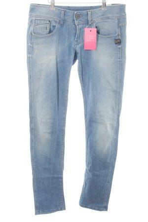 G-Star Slim Jeans himmelblau-kornblumenblau Casual-Look