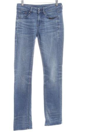 G-Star Slim jeans korenblauw-staalblauw casual uitstraling
