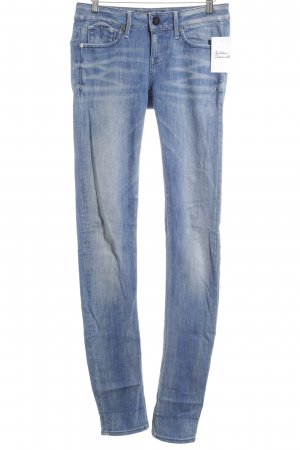 G-Star Slim Jeans stahlblau Street-Fashion-Look
