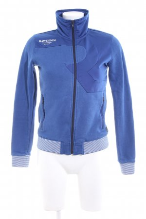 G-Star Sportjacke blau Casual-Look