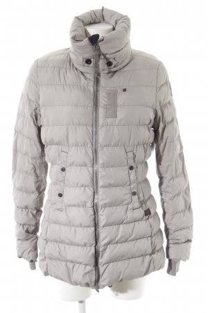 G-Star Steppjacke silberfarben Steppmuster Casual-Look