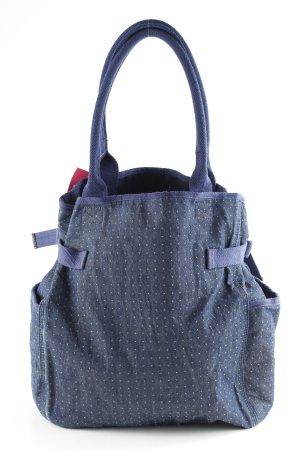 G-Star Stoffen tas donkerblauw-wit gestippeld patroon casual uitstraling