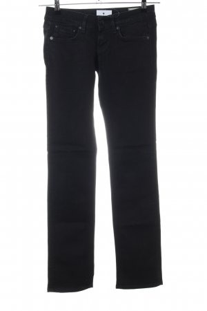 G-Star Straight-Leg Jeans schwarz Casual-Look