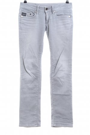 G-Star Straight-Leg Jeans hellgrau Casual-Look