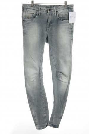 G-Star Straight-Leg Jeans blassblau Street-Fashion-Look