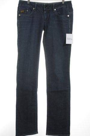 G-Star Straight-Leg Jeans blau schlichter Stil