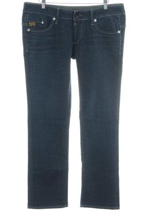 G-Star Straight-Leg Jeans dunkelblau Casual-Look