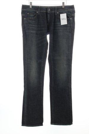 G-Star Straight-Leg Jeans dunkelblau-hellbeige Casual-Look