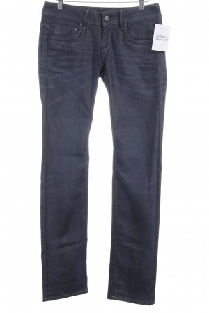 G-Star Straight-Leg Jeans dunkelblau Jeans-Optik