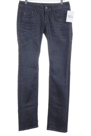 G-Star Straight-Leg Jeans dunkelblau Jeans-Optik