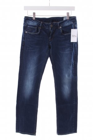 G-Star Straight-Leg Jeans dunkelblau Washed-Optik