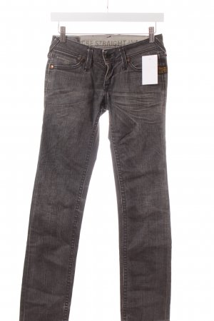 G-Star Straight-Leg Jeans grau Casual-Look
