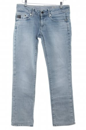 G-Star Straight-Leg Jeans himmelblau Washed-Optik