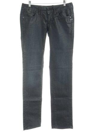 G-Star Straight-Leg Jeans schwarz extravaganter Stil