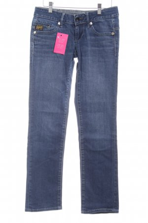 G-Star Straight-Leg Jeans stahlblau Casual-Look