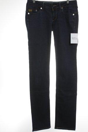 G-Star Stretch Jeans dunkelblau schlichter Stil