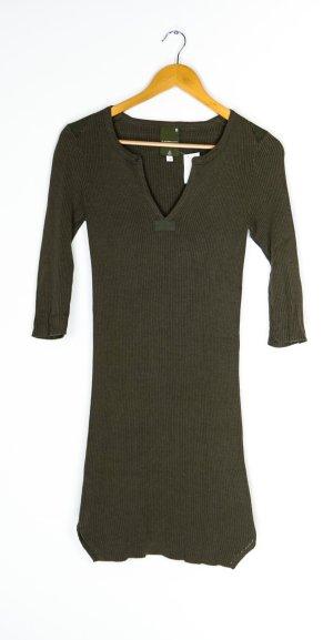 G-Star Gebreide jurk olijfgroen