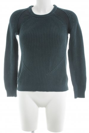 G-Star Strickpullover petrol Casual-Look